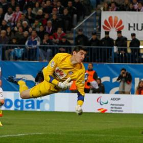 El Atlético hace oficial la nueva cesión de Courtois