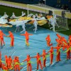 Espectacular ceremonia de clausura de la Eurocopa 2012