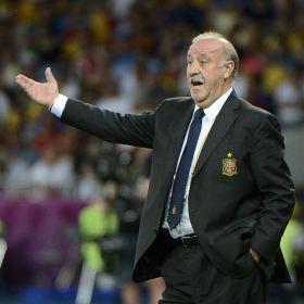 """Del Bosque: """"Hemos dado un rato de felicidad a toda España"""""""