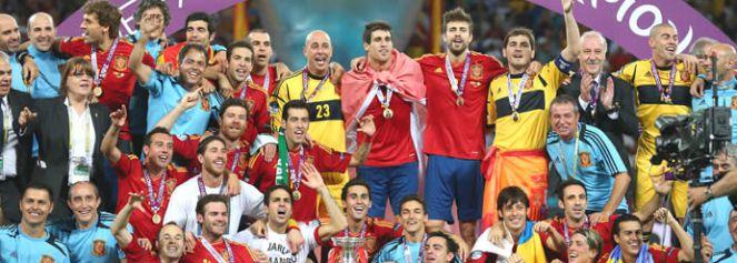 España entra en la leyenda