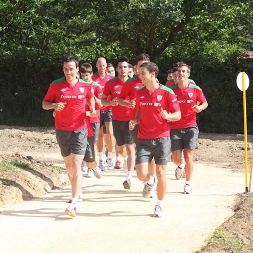 El Athletic 2012-2013 arrancó con trabajo físico en Lezama