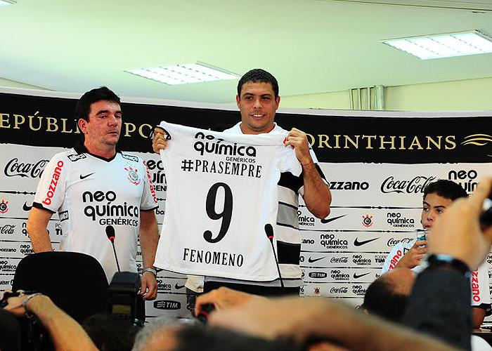 Corinthians quiere a Ronaldo de corto en el Mundialito