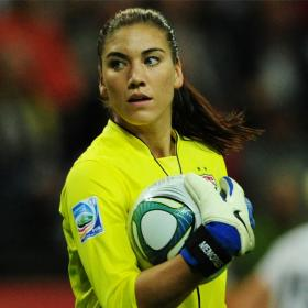 Hope Solo dio positivo y recibe una advertencia por dopaje
