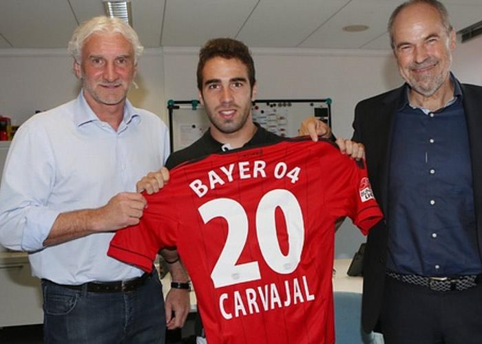 El Leverkusen dice que Mou les recomendó a Carvajal