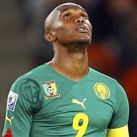 Samuel Eto'o puede perder   la capitanía de Camerún