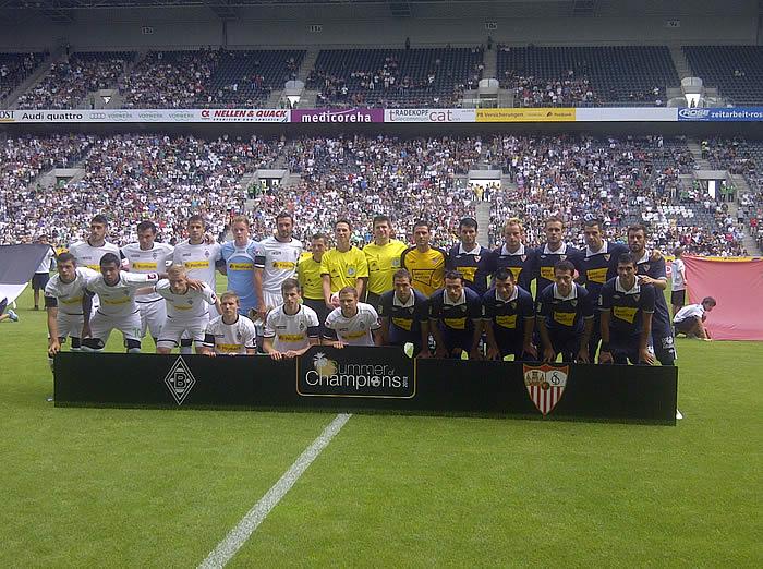 Apareció el 'otro' Sevilla, que casi gana al Borussia