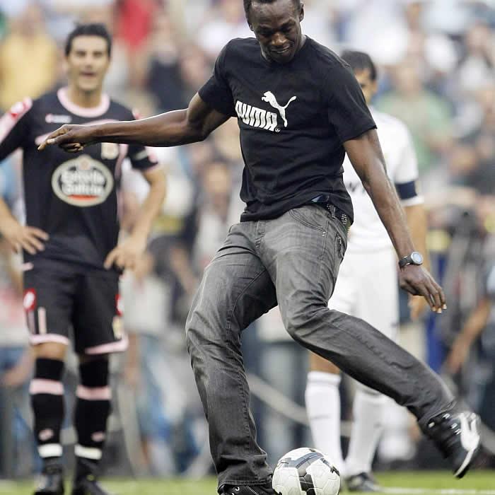 "Usain Bolt se moja: ""Sin duda, Cristiano es mejor que Messi"""