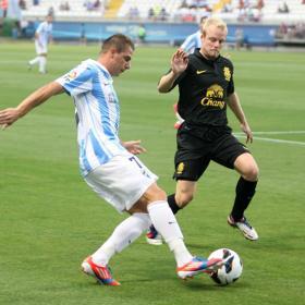 El Málaga tiene sello, alma y fútbol, le falta un 'nueve'