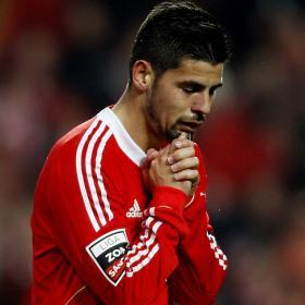 Nolito pide salir cedido del Benfica, según la prensa lusa