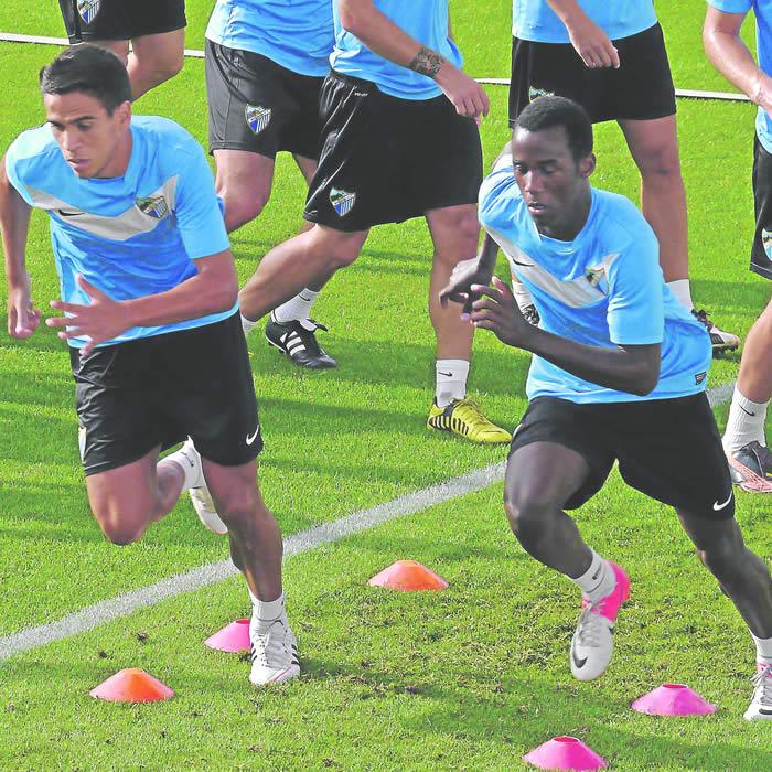 El Málaga podría inscribir a Fabrice en la Champions