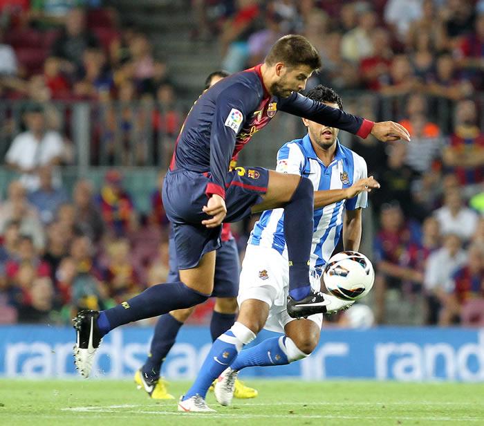 El jueves retornarán Alexis, Iniesta y Piqué a la titularidad
