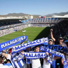 Málaga estrena música de Champions