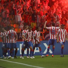 Atlético Madrid fan clubs motivate the team with a video