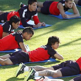 Filipe jugará, Óliver será citado y Juanfran es duda
