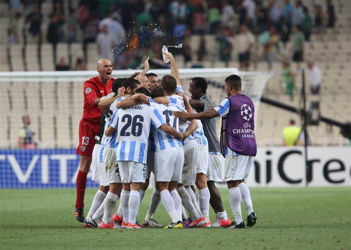 El Málaga es de Champions