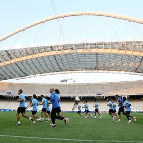 El Málaga, a un infierno de la Champions