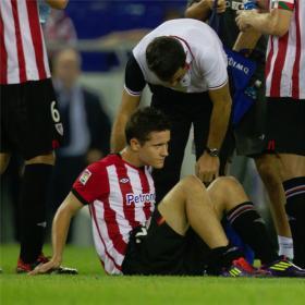 Herrera estará de baja entre 4 y 6 semanas tras ser operado