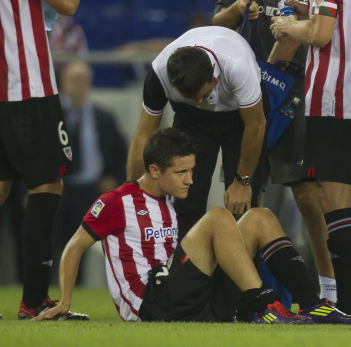 El quirófano pone fin al doloroso año de Herrera