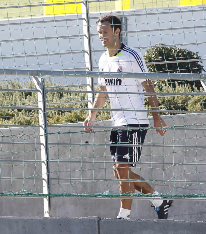 Carvalho continúa apartado y alterna el Castilla y el Madrid C