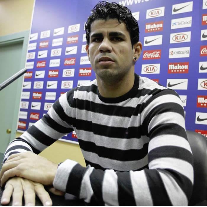 """Costa: """"Falcao está mejor que nadie, no le afecta nada"""""""