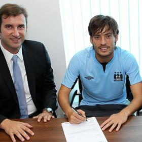 David Silva renueva hasta 2017