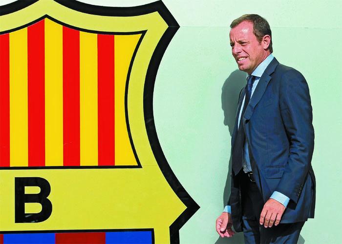 """Rosell: """"Hay que trabajar ya en la renovación de Messi"""""""
