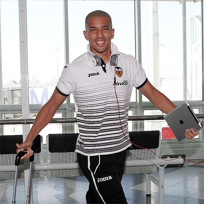 """Feghouli: """"No hemos mostrado todavía al mejor Valencia"""""""