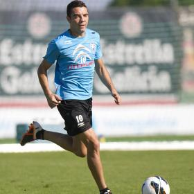 Aspas: &quot;El Getafe no se va a cerrar, ir al ataque&quot;