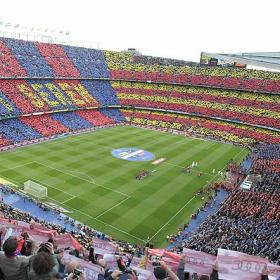 El Camp Nou cumple 55 aos