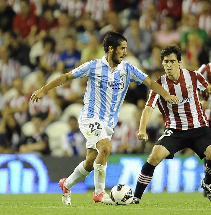 El Málaga considera intransferible a Isco