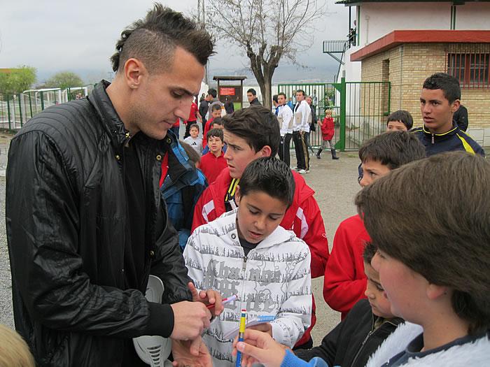 Yebda vuelve a Granada y se entrenará en 14 días