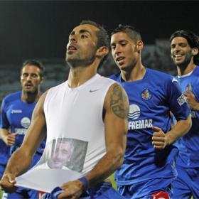 El Getafe sonríe en el Coliseum ante un Mallorca con diez