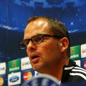 """Frank De Boer: """"Si creemos, tenemos posibilidades"""""""