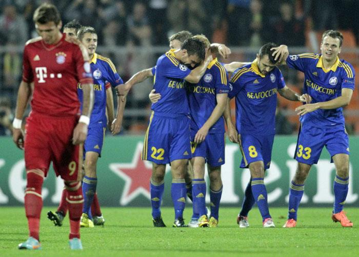 El Bayern sucumbe en Minsk con un 80% de posesión