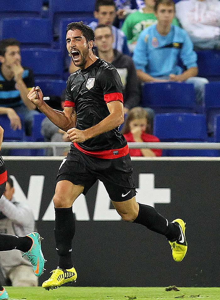 Raúl García recupera la figura del medio goleador en el Atleti
