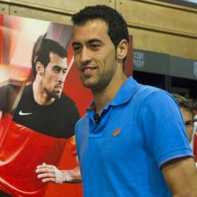 Busquets: &quot;Messi siempre la la&quot;