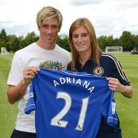 """Adriana: """"Siempre me he fijado en Torres"""""""
