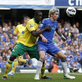 El Chelsea vapulea al Norwich City en Stamford Bridge