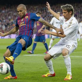Coentrao fue titular en los últimos cuatro viajes al Camp Nou