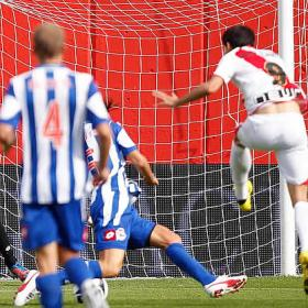 Piti y José Carlos rescatan al Rayo ante el Deportivo