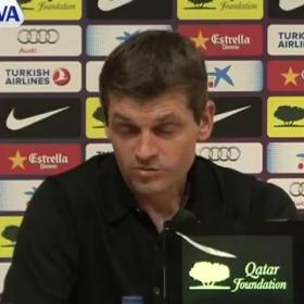 "Tito: ""You could make a video with all the kicks Pepe gave us"""