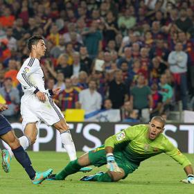 Valdés encaja más goles con Vilanova que con Pep
