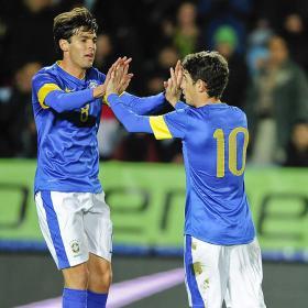 Kaká se luce ante Irak: un gol y una asistencia