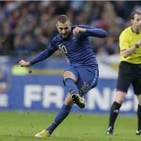 Benzema: tres goles en sus últimos 16 partidos con Francia