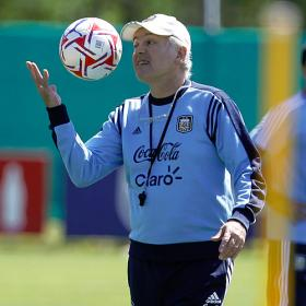 Sabella: &quot;Es difcil que Messi juegue mal&quot;