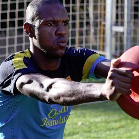 Abidal ya se entrena en el gimnasio con los lesionados