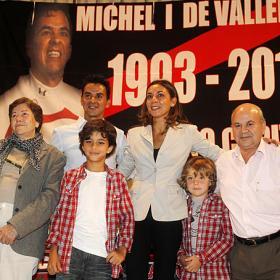 """Míchel: """"Por un día así soñé con ser futbolista"""""""