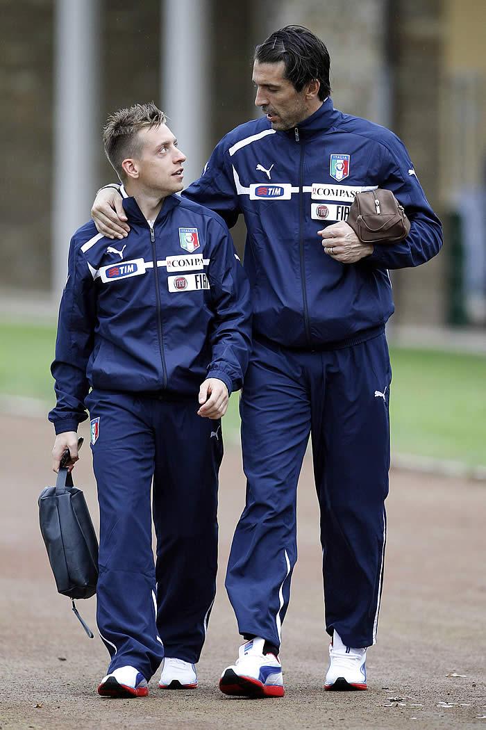 Buffon, la duda de una Italia que quiere seguir líder