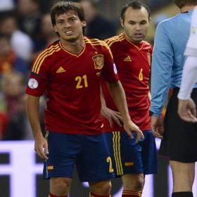 Preocupación en el City por la lesión de David Silva