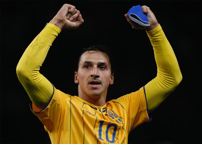 Zlatan Ibrahimovic gana el Golden Foot del año 2012